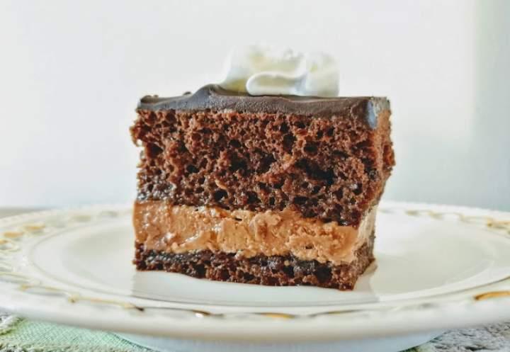Amandine – tradycyjny tort czekoladowy z Rumunii