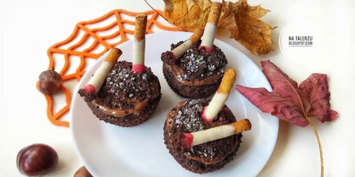 Muffinki popielniczki na Halloween