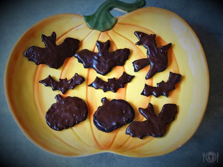 Keto czarne ciastka na Halloween (Paleo, LowCarb)