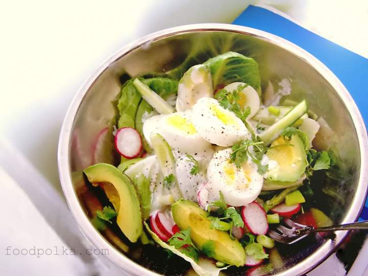 Shed the winter lbs with this garden salad recipe