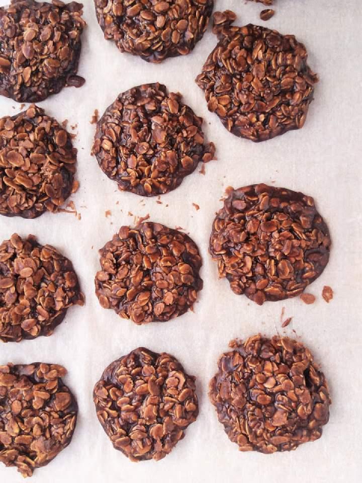 Ciastka owsiane bez pieczenia / No Bake Oatmeal Cookies