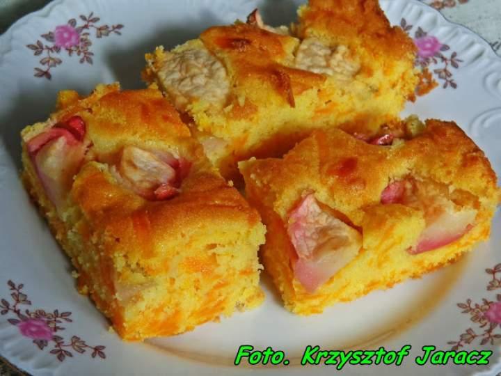 Ciasto z dynią i jabłkami.