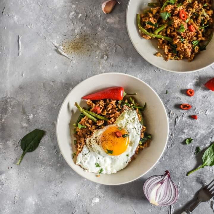 Nasi Goreng – smażony ryż po indonezyjsku