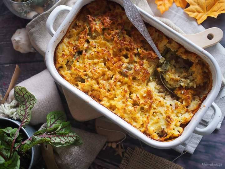 Zapiekanka z mięsem i brokułami / Meat and broccoli bake