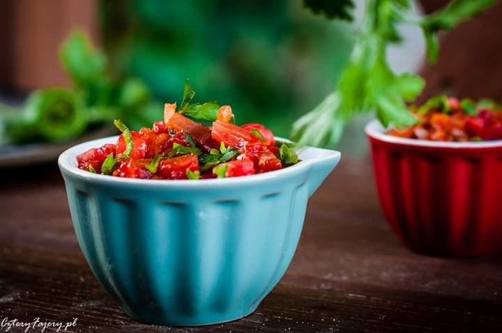 Sos pomidorowy po indyjsku