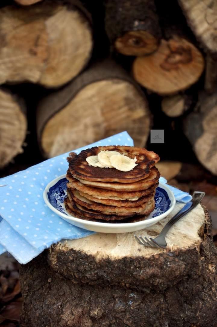 Wegańskie pancakes orkiszowe
