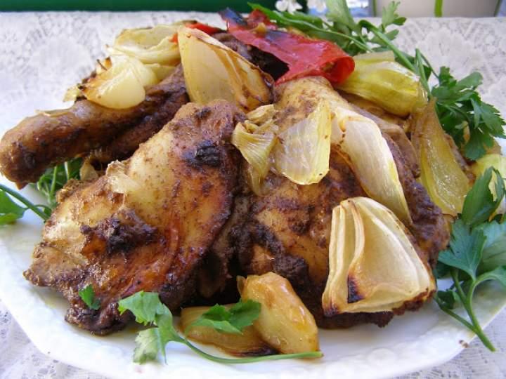 pikantne udka kurczaka w rękawie pieczone…