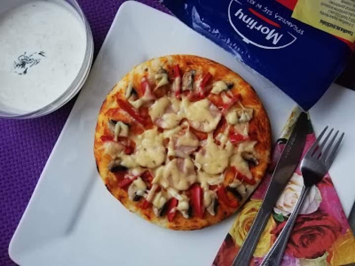 Pizza z kiełbasą Morlińską