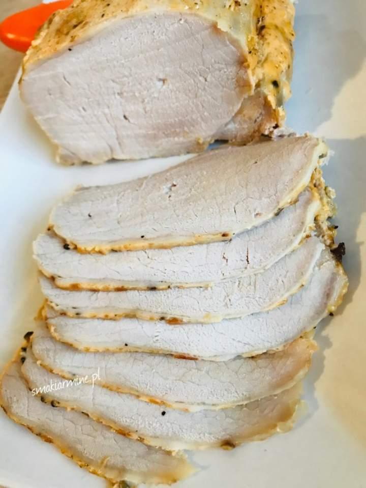 Schab pikantny, pieczony (na kanapki)