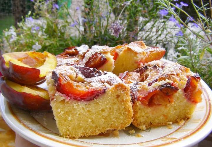 pyszne, łatwe ciasto śliwkowe…
