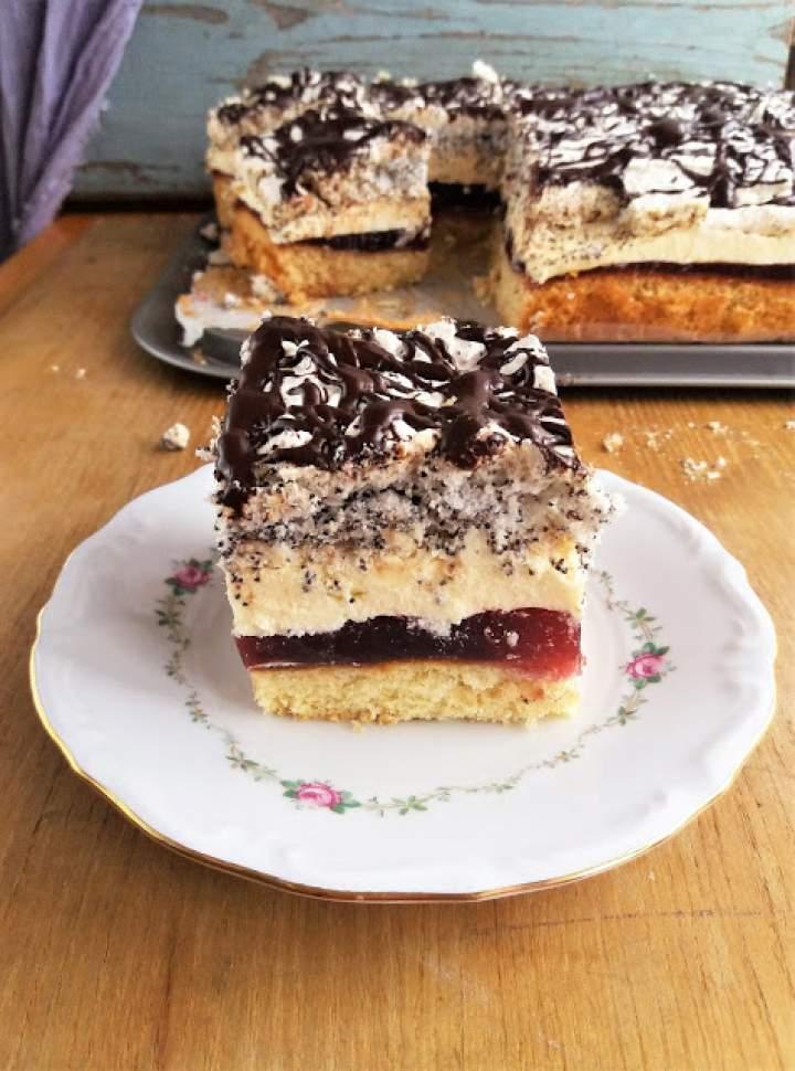Ciasto Biskup / Layer 'Bishop' Cake