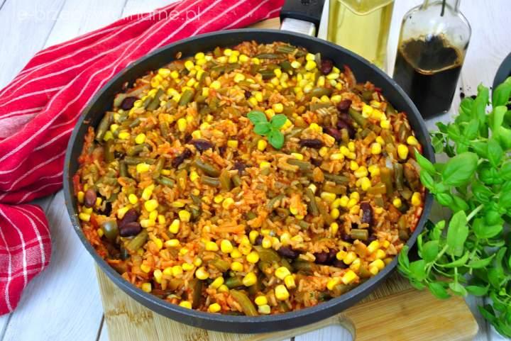 Ryż po meksykańsku (wege i fit)