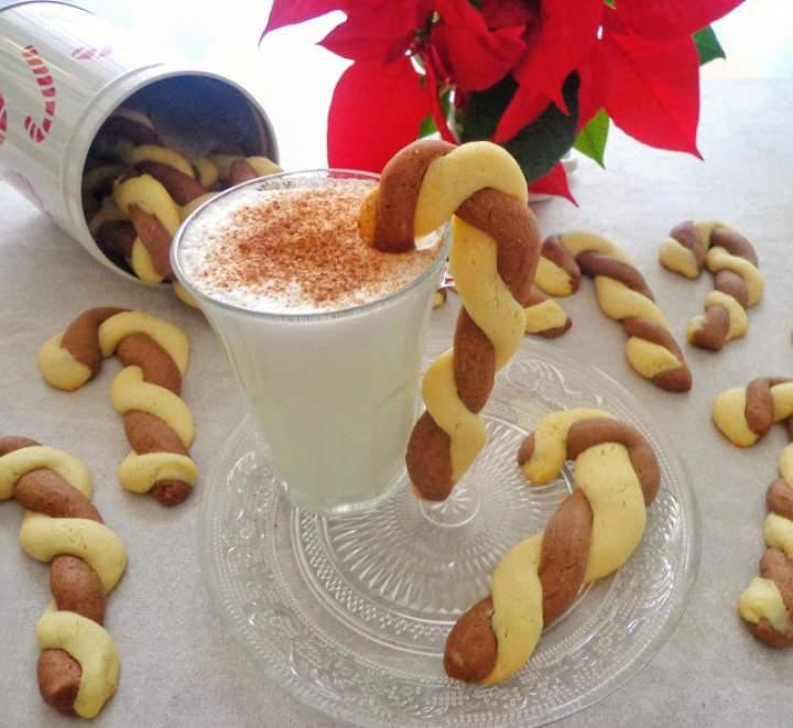 Waniliowo-kakaowe laski Mikołaja