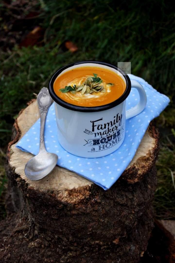 Zupa krem z marchewki i fenkuła
