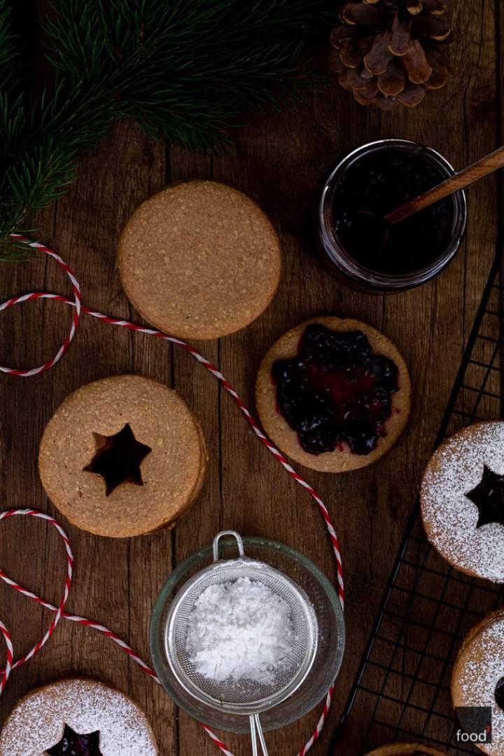 Linzer Augen – świąteczne ciasteczka z Linzu
