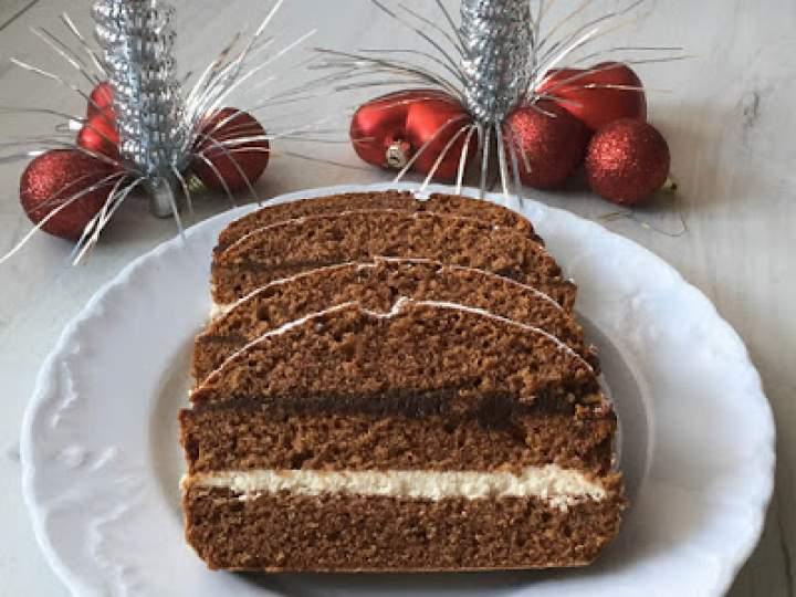 Piernik świąteczny z mascarpone