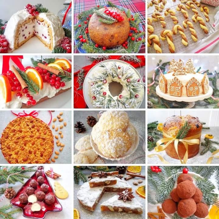 40 przepisów na świąteczne słodkości (40 ricette per dolci natalizi)