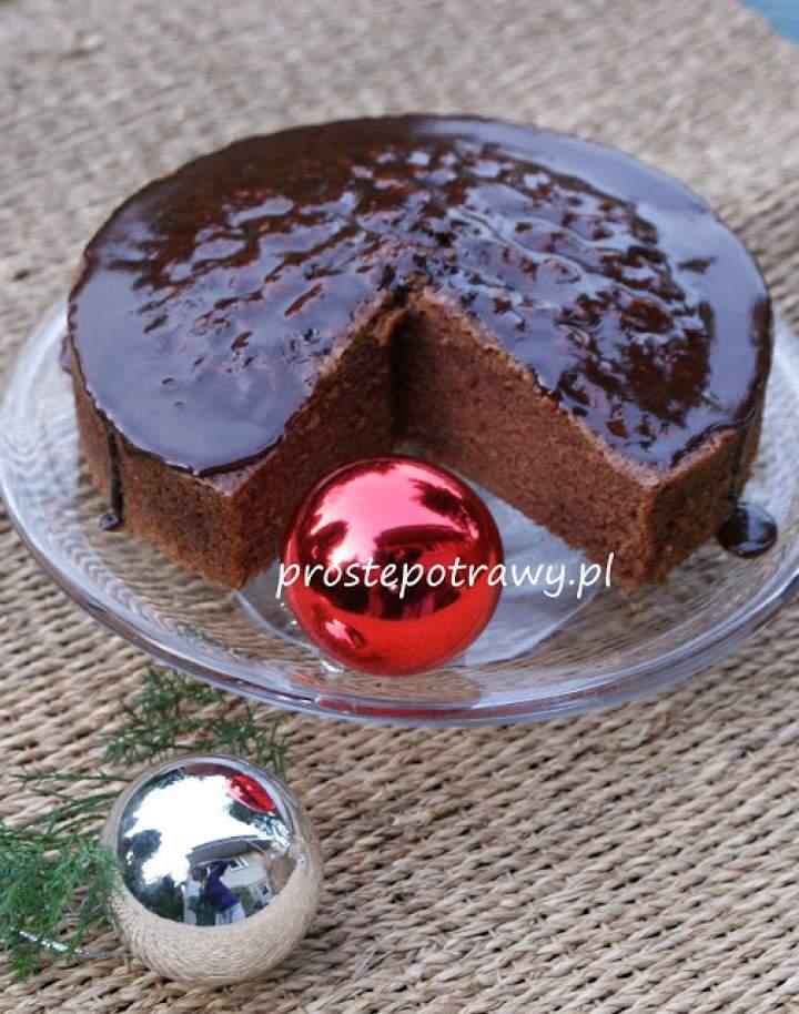 Ciasto kakaowe na śmietanie i oleju