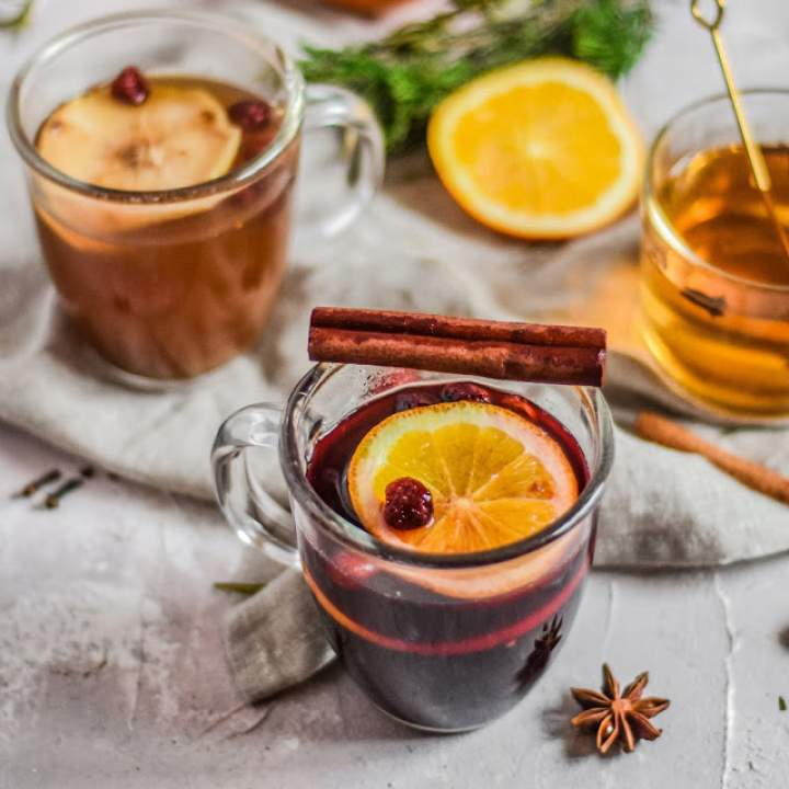 3 aromatyczne napoje bezalkoholowe na Boże Narodzenie/Zimę