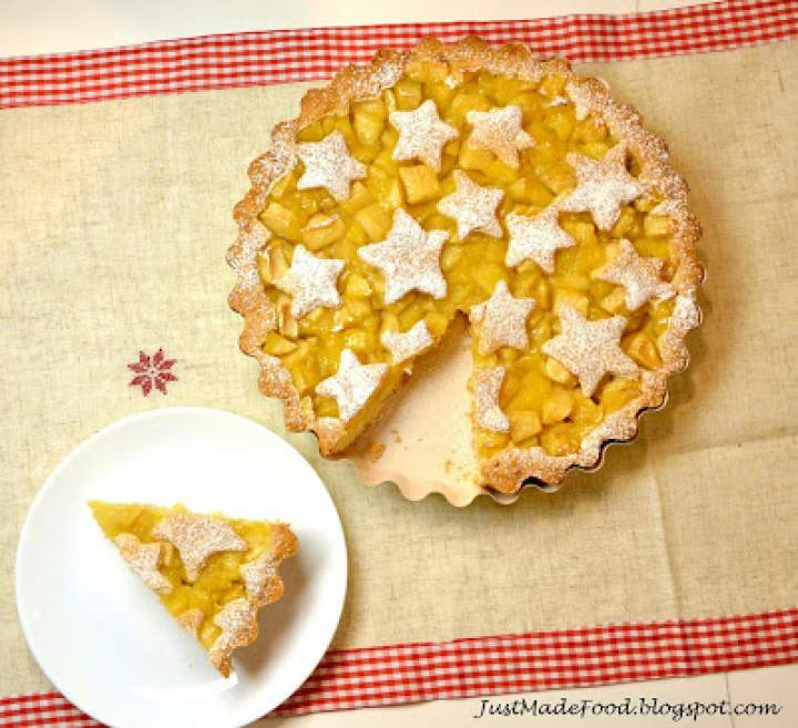 Świąteczna tarta z jabłkami