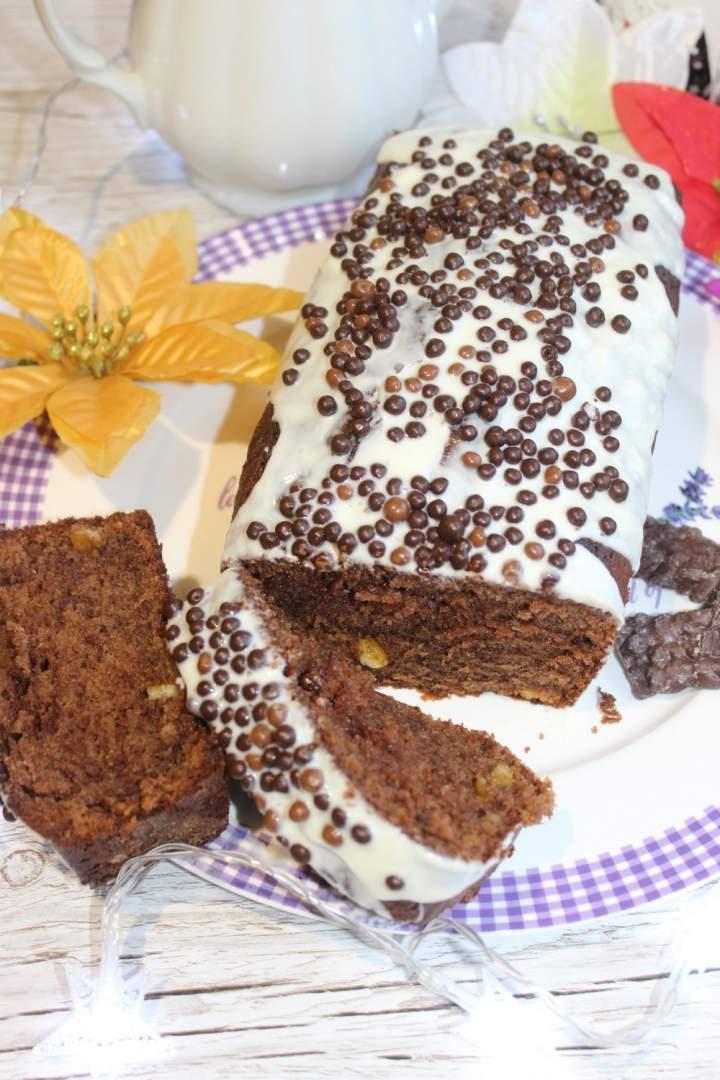 Puszyste podwójnie czekoladowe ciasto