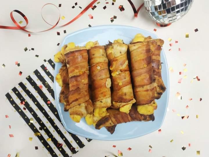 Imprezowe zawijańce tostowe