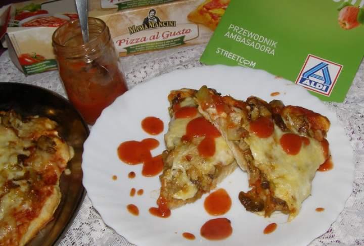 pizza z prawdziwkami czyli Testowanie Aldi…