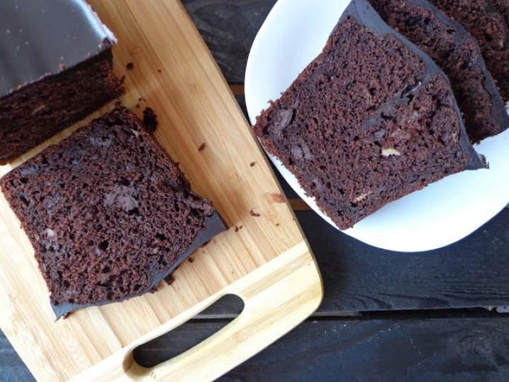 najlepszy mega czekoladowo-bananowy keks