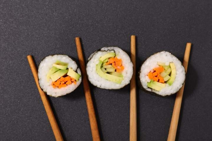 Jakie warzywa do sushi