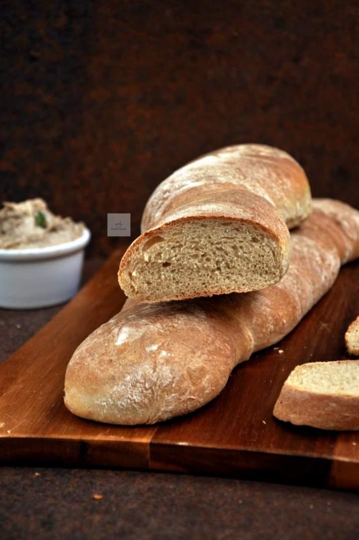 Bardzo proste bagietki jak chlebki