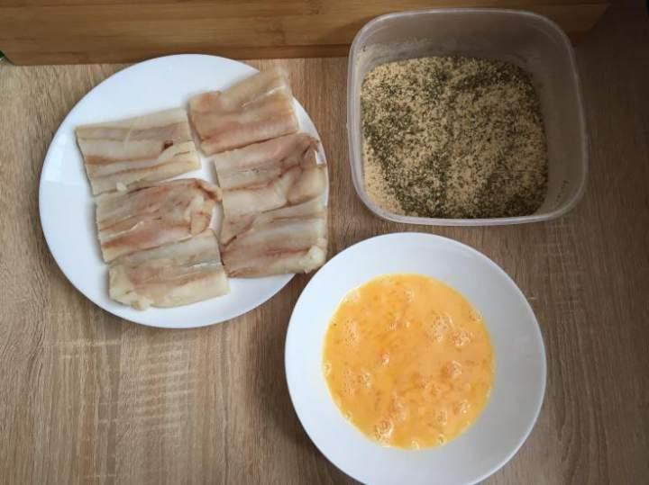 Filety rybne w ziołowej panierce