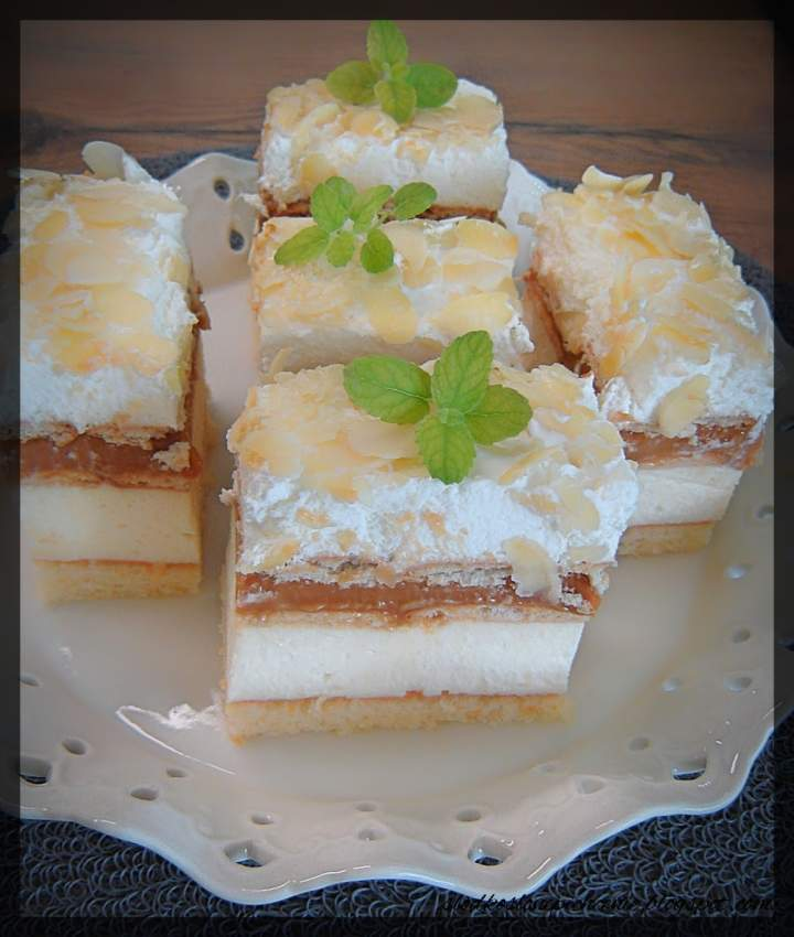 Ciasto 3 BIT na biszkopcie