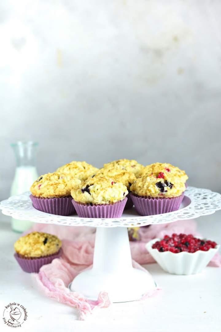 Owocowe muffinki na jogurcie