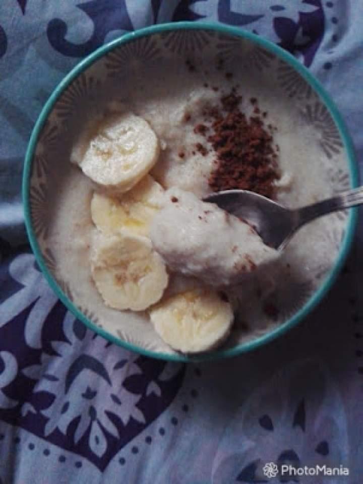 Krem z manny i banana