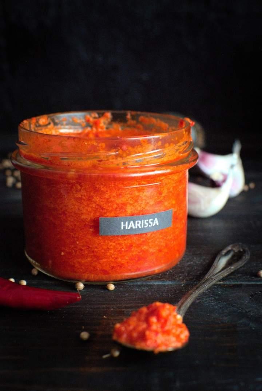 Harissa – pasta z papryczek chilli (umiarkowanie ostra)
