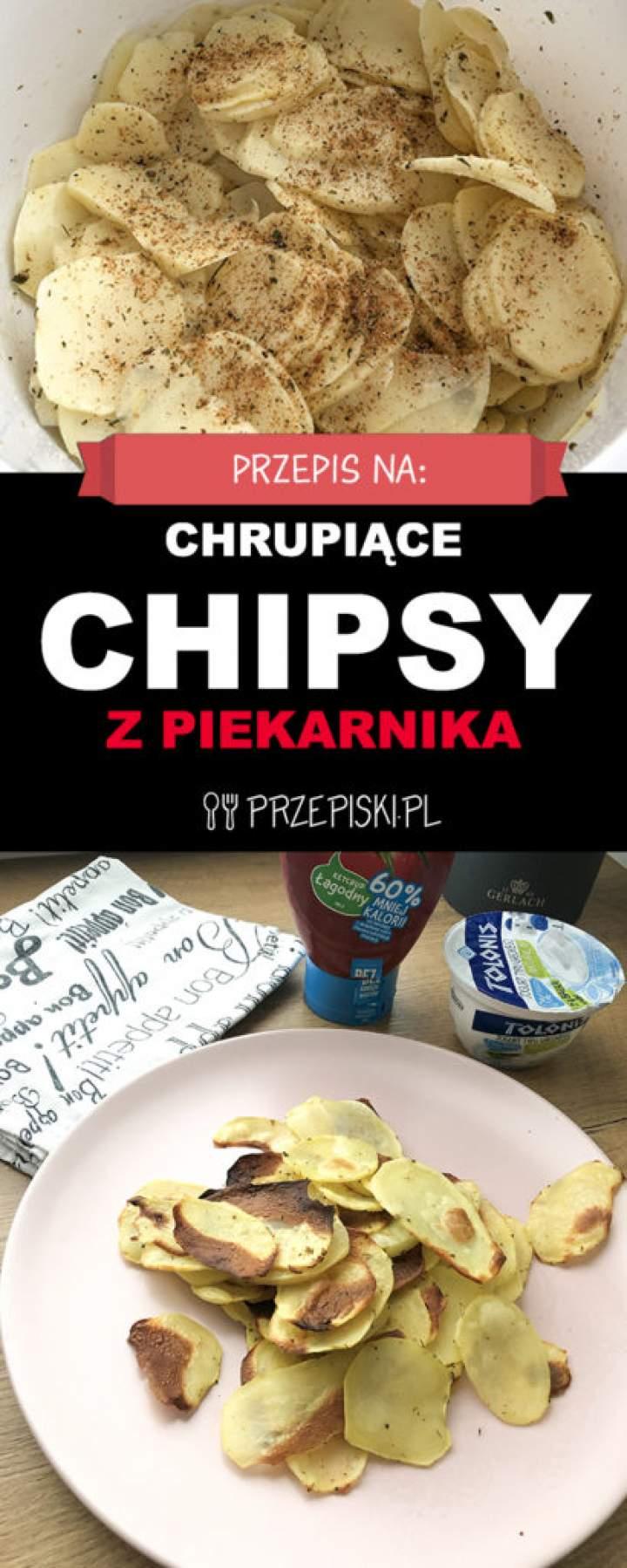 Przepis na Chrupiące Chipsy z Piekarnika