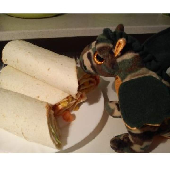 Tortilla z szynką