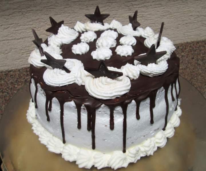 Łatwy i pyszny  tort wuzetka drip cake +FILM