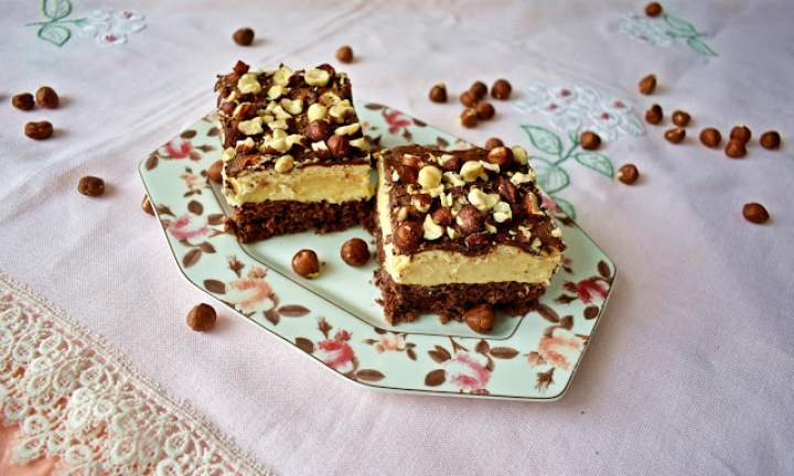 Ciasto czekoladowo-orzechowe z nutellą
