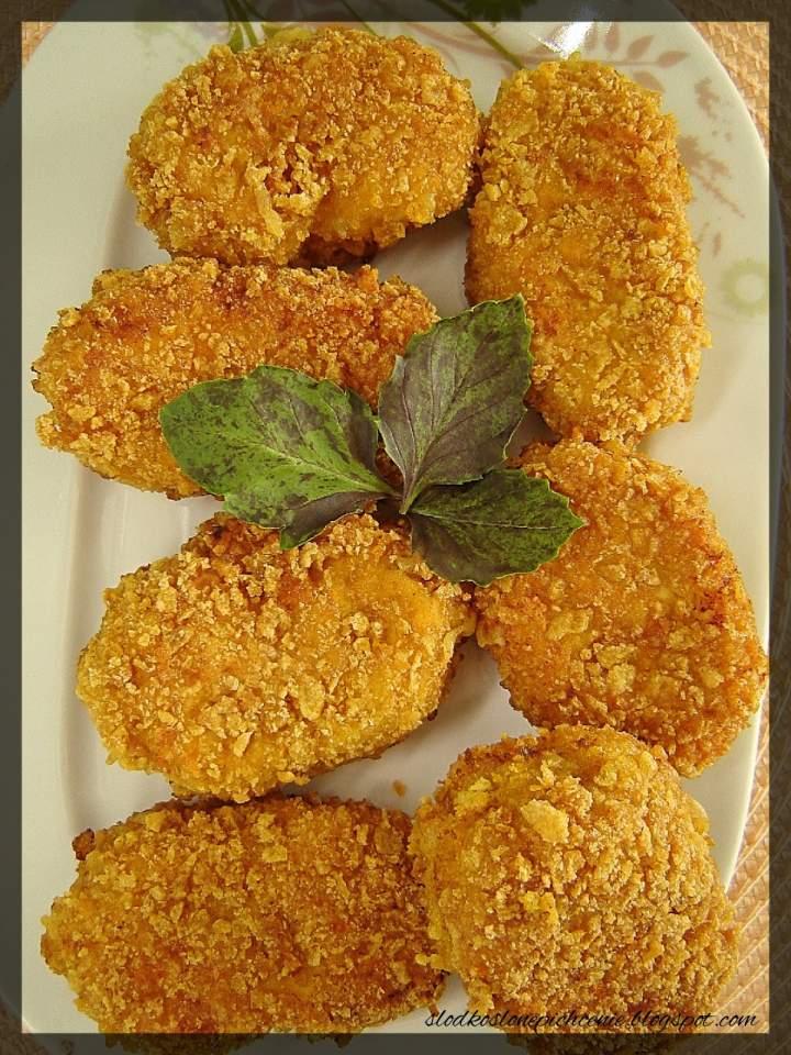 Chrupiące kotlety z kurczaka