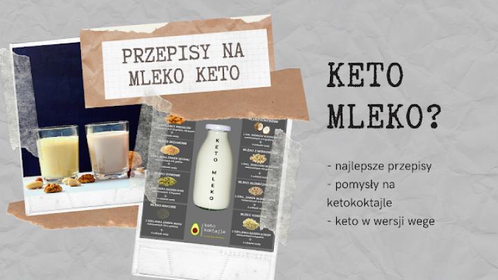 Dieta keto w wersji wegańskiej? Żadne problem oto przepis na ketomleko