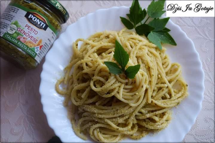 Spaghetti z Pesto Bazyliowym