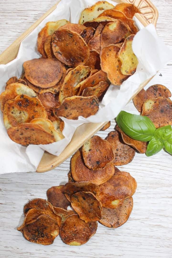 Domowe chipsy z piekarnika