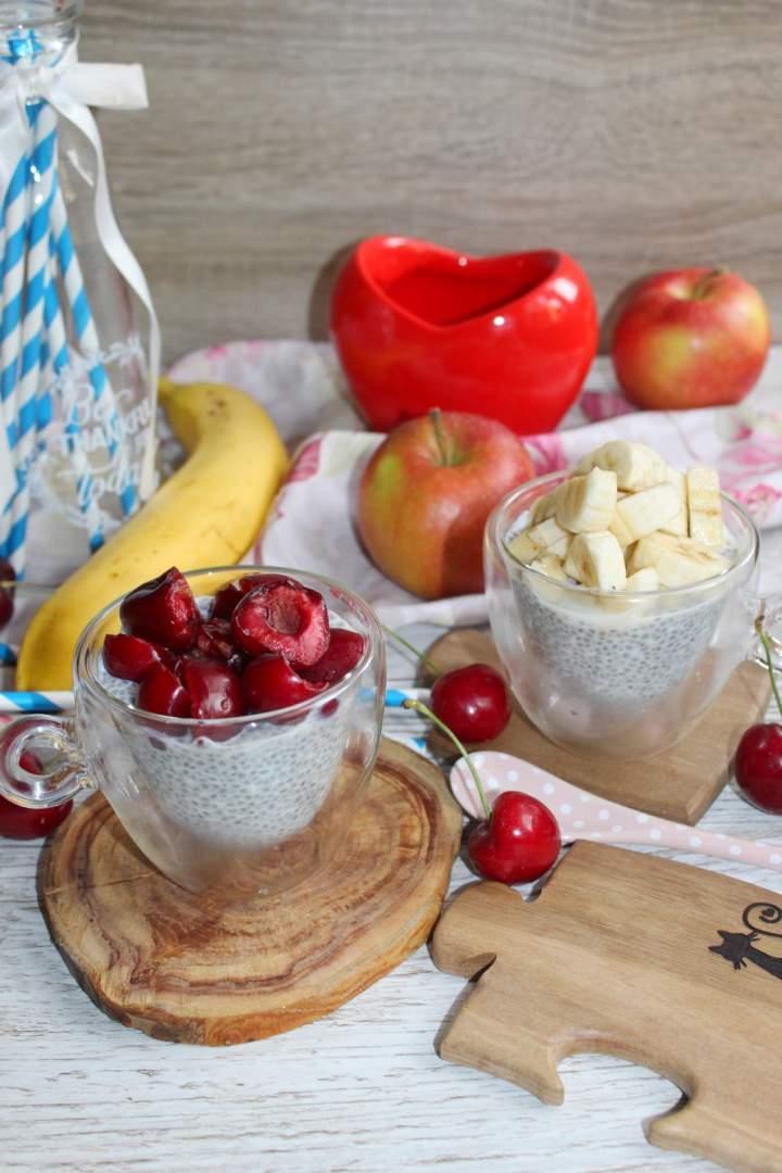 Kokosowy pudding chia oraz kila słów o produktach Fit Supply