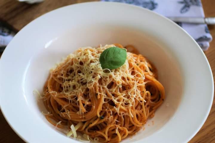 'Szybkie' Spaghetii/ Speedy Spaghetti