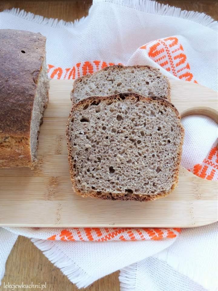 Łatwy chleb na zakwasie / Easy Sourdough Bread