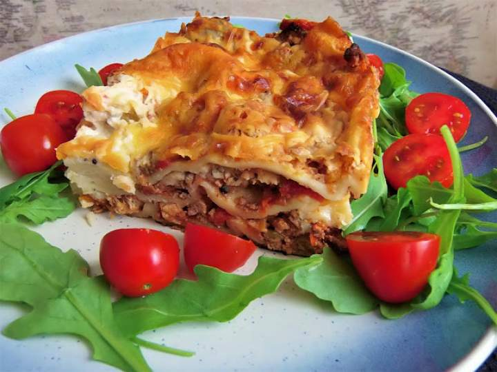Oryginalna włoska lasagne