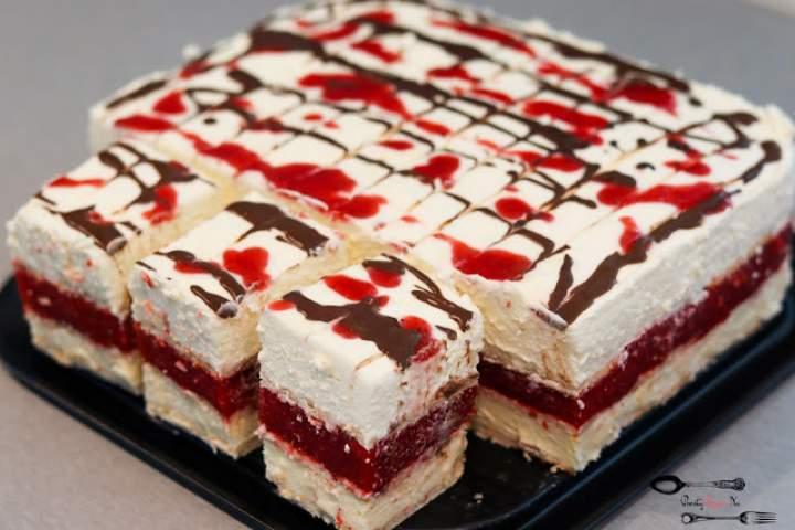 Dama Kier – ciasto bez pieczenia
