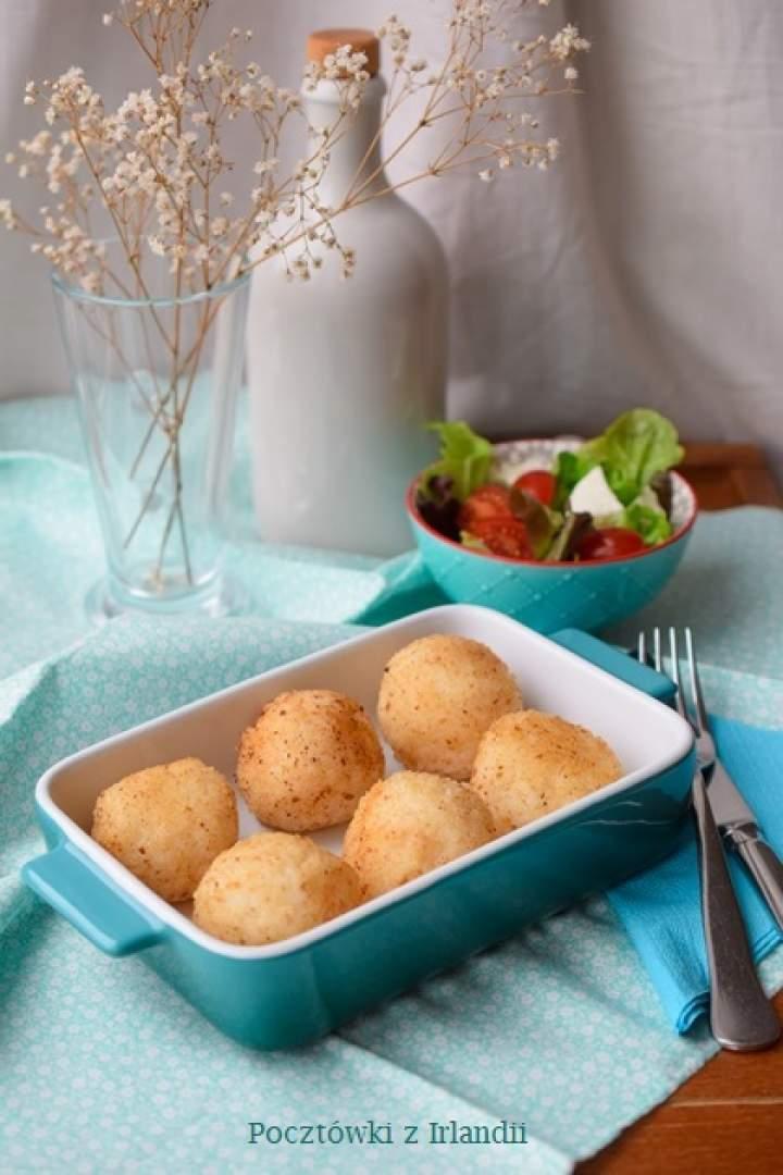Dziecko w kuchni: Kulki ryżowe nadziewane mozzarellą