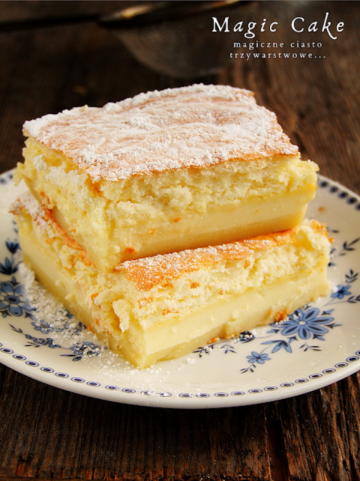 magic cake – magiczne ciasto trzywarstwowe